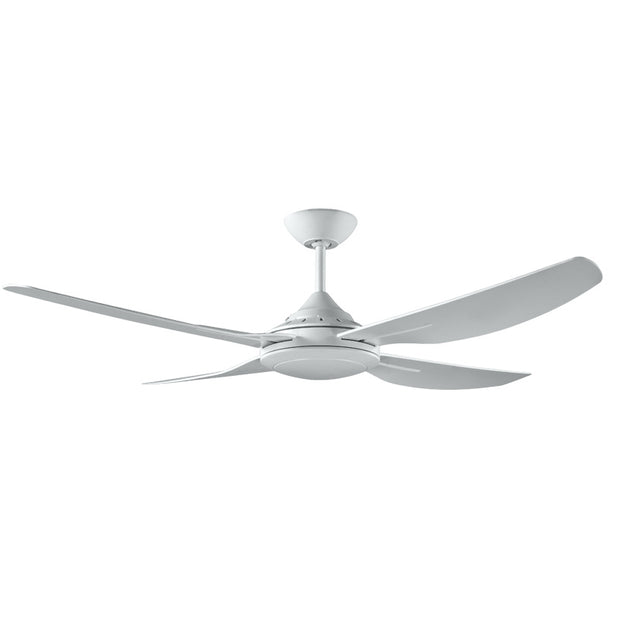 Ingram White Ceiling Fan - 52""