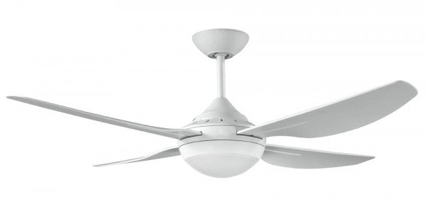 Harmony 2 Ceiling Fan with LED Light - White 48""