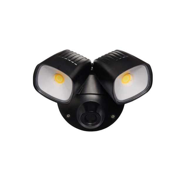 Ranger- 2 x 12W Tri Colour LED Flood Light Polycarb - Black