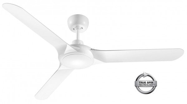 "Spyda 56"" ABS 3 Blade Ceiling Fan - White"