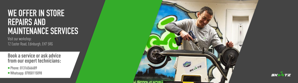Skootz Electric Scooters and Electric Bike repairs and maintenance services