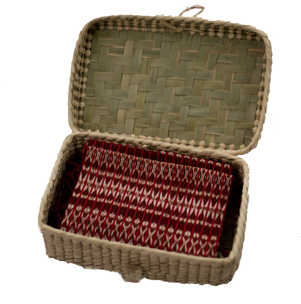 Palm Rebozo Storage Box