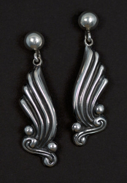 Baroque Abstract Earring