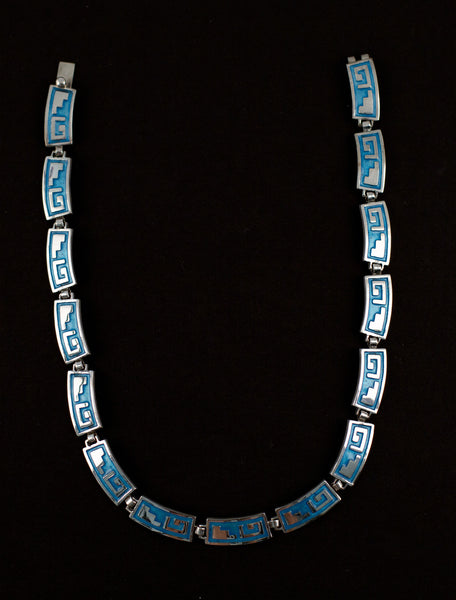 Egyptian Enamel Necklace