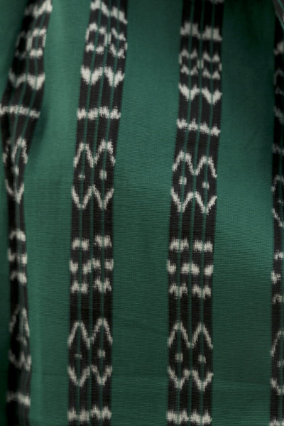 Green, Black & White Scarf
