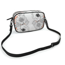 Load image into Gallery viewer, Camera bag white floral