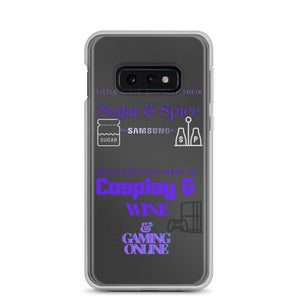 What blerd girls are made of Samsung Case