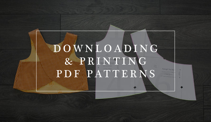 How to Download, Print and Assemble LLK Patterns