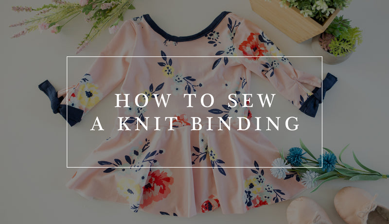 How to Sew a Knit Binding