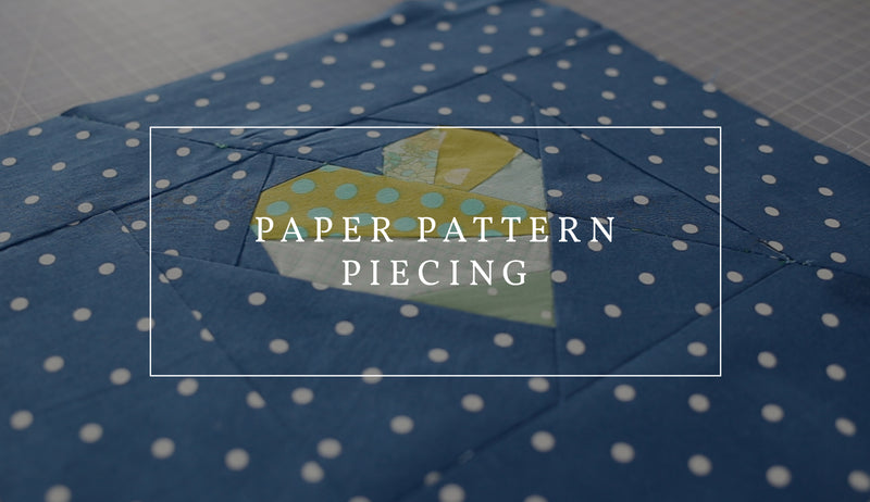 Make a Quilt Block with Foundation Paper Pieced Patterns