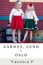 Aarhus, Lund and Oslo 3 Pattern Bundle