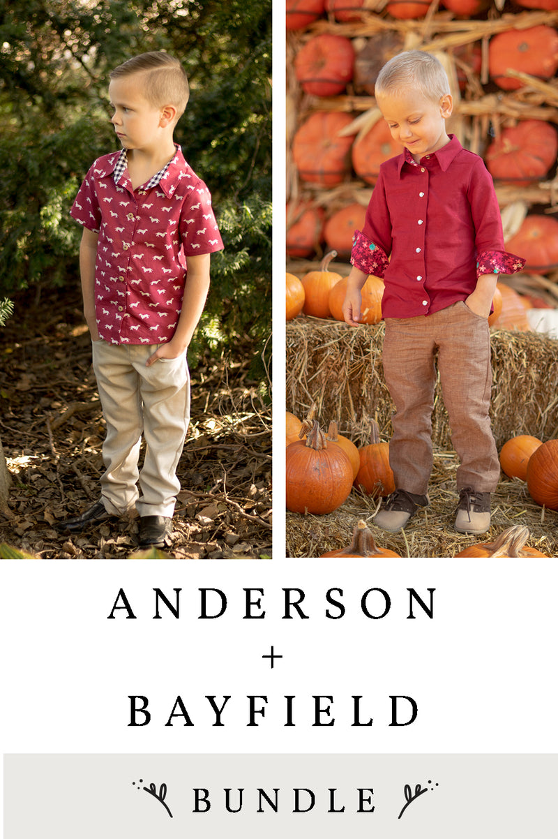 Anderson and Bayfield 2 Pattern Bundle