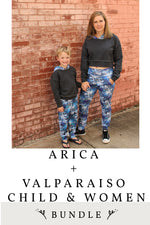 Arica and Valparaiso Child and Women 4 Pattern Bundle