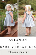 Avignon Bonnet and Baby Versailles 2 Pattern Bundle