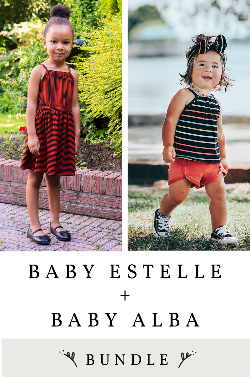Estelle and Alba Baby 2 Pattern Bundle