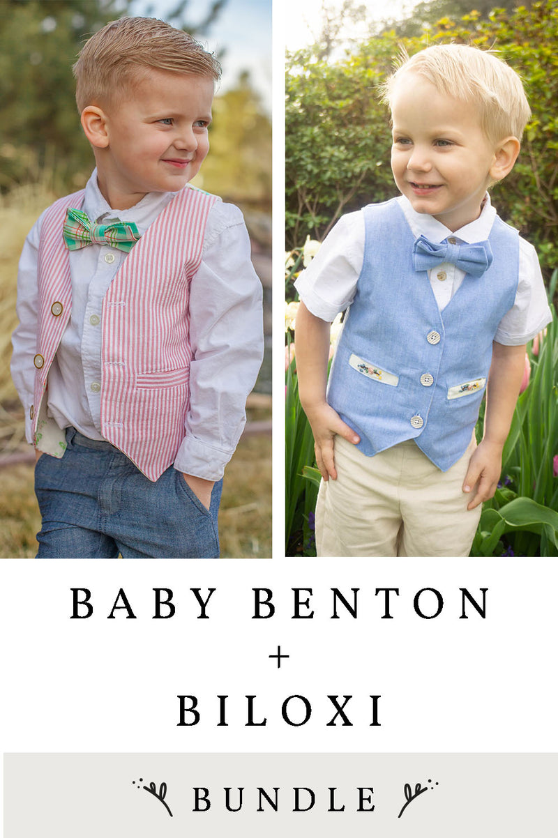 Benton Baby and Biloxi 2 Pattern Bundle