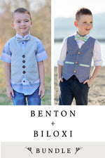 Benton and Biloxi 2 Pattern Bundle