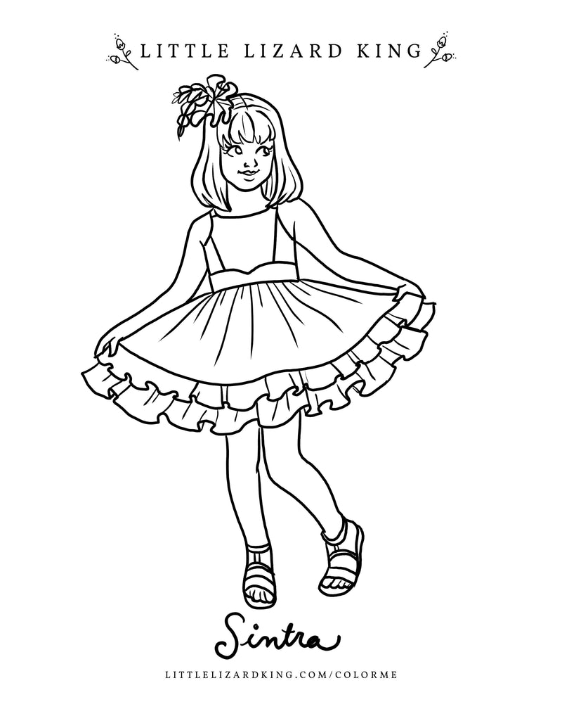 Sintra Coloring Page