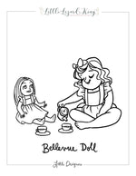 Bellevue Doll Coloring Page