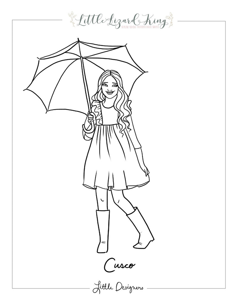 Cusco Coloring Page