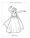 Fairytale Magic Elsa Coloring Page