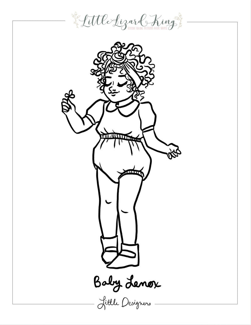 Lenox Baby Coloring Page