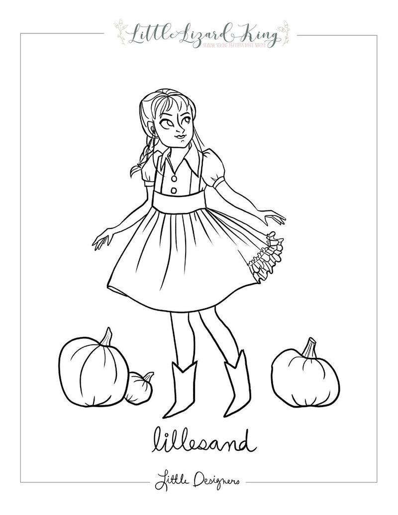 Lillesand Coloring Page