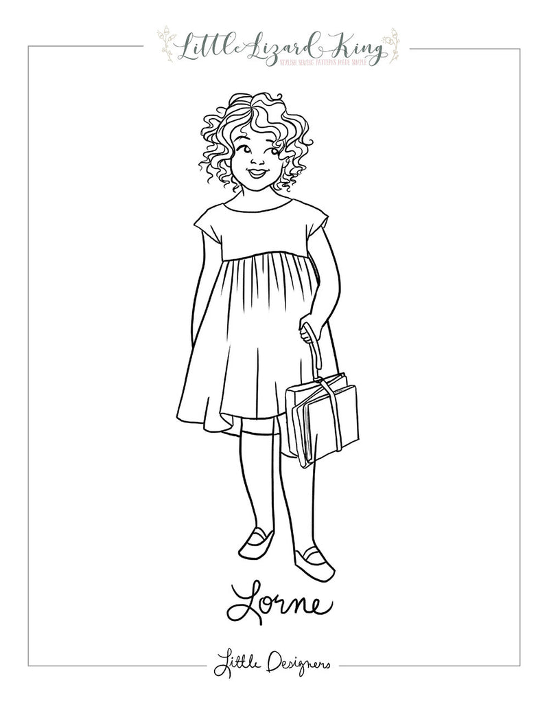 Lorne Coloring Page