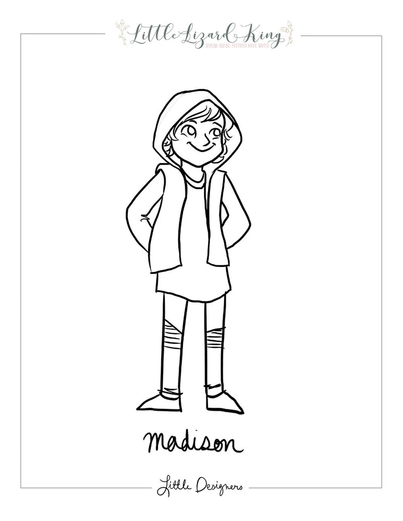 Madison Coloring Page