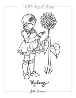 Maleny Coloring Page