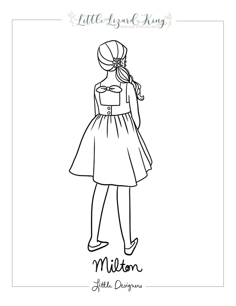 Milton Coloring Page