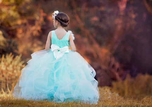 Misthaven Tulle Dress Coloring Page
