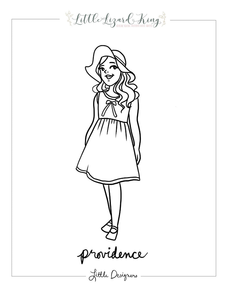 Providence Coloring Page