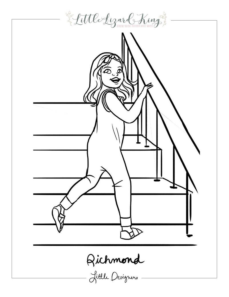Richmond Coloring Page