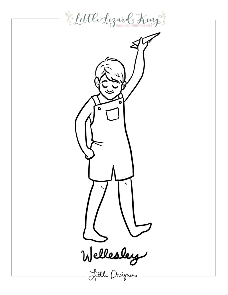 Wellesley Coloring Page