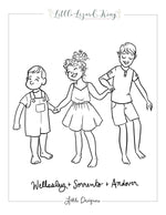 Andover and Wellesley Coloring Page