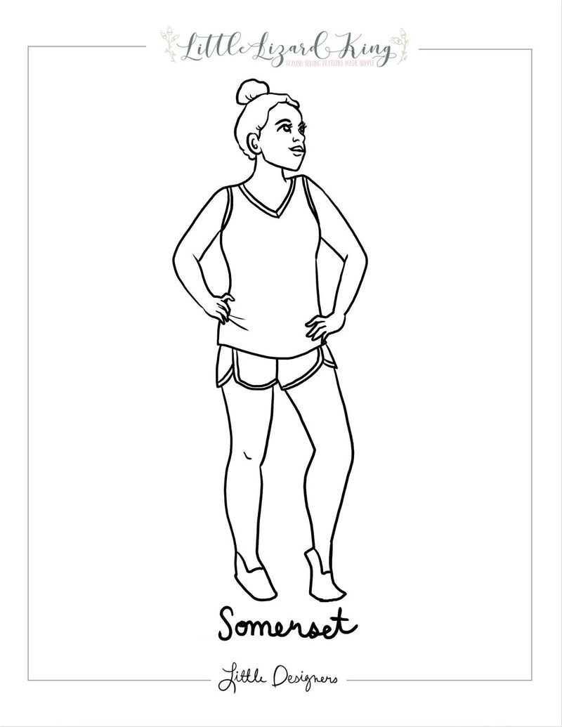 Somerset Women Coloring Page