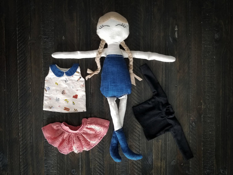 Charlotte Doll Clothing Set
