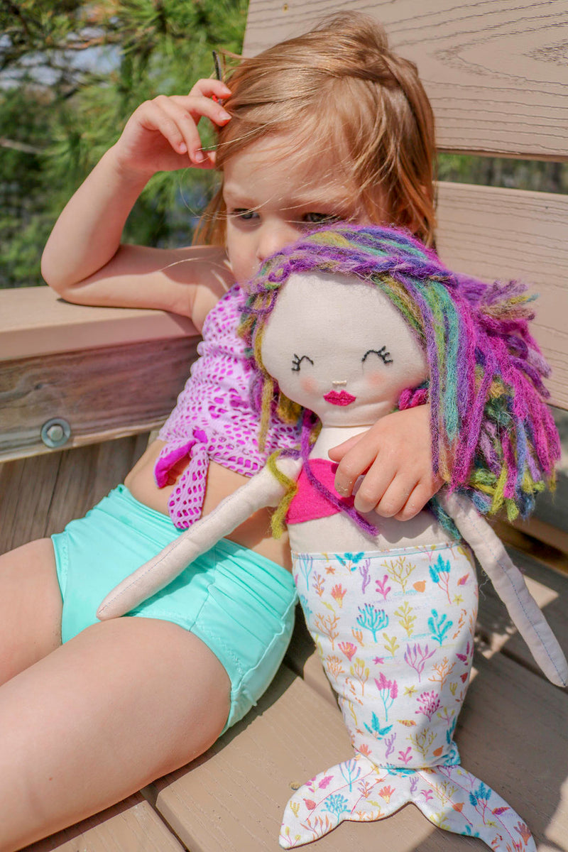 Coralie and Caspian Doll and Satchel 2 Pattern Bundle