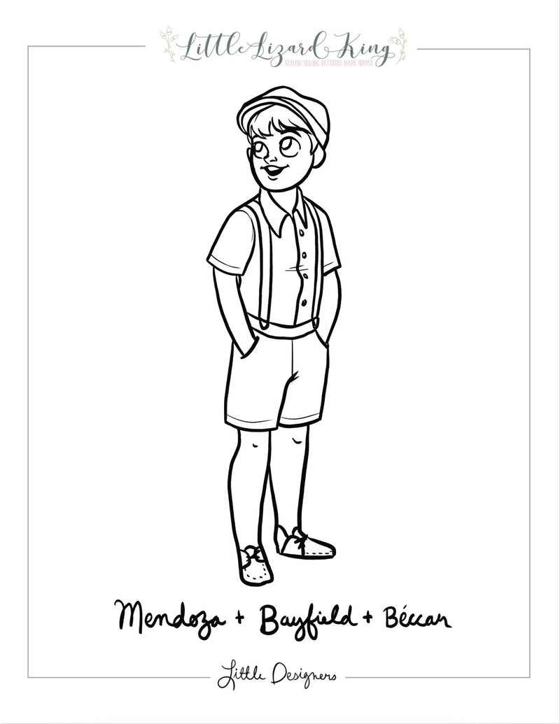 Beccar, Bayfield and Mendoza Coloring Page
