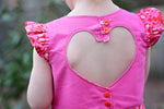 Arendelle Heart Back Bodice and Flutter