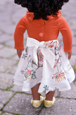 Islington Doll Top and Montgomery Doll Skirt