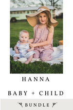 Hanna Baby and Child 2 Pattern Bundle