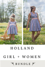 Holland Girl and Women 2 Pattern Bundle
