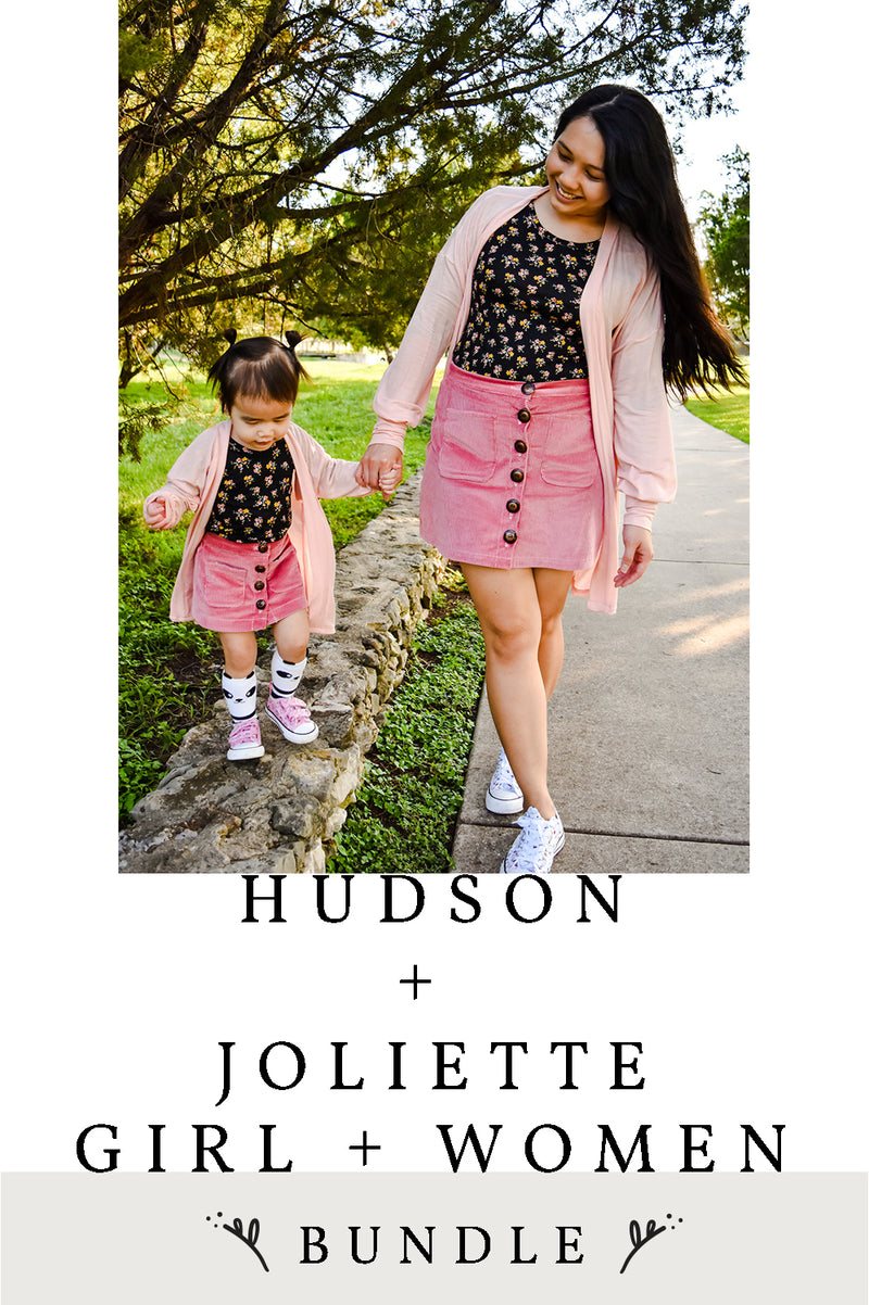 Hudson and Joliette Girl and Women 4 Pattern Bundle