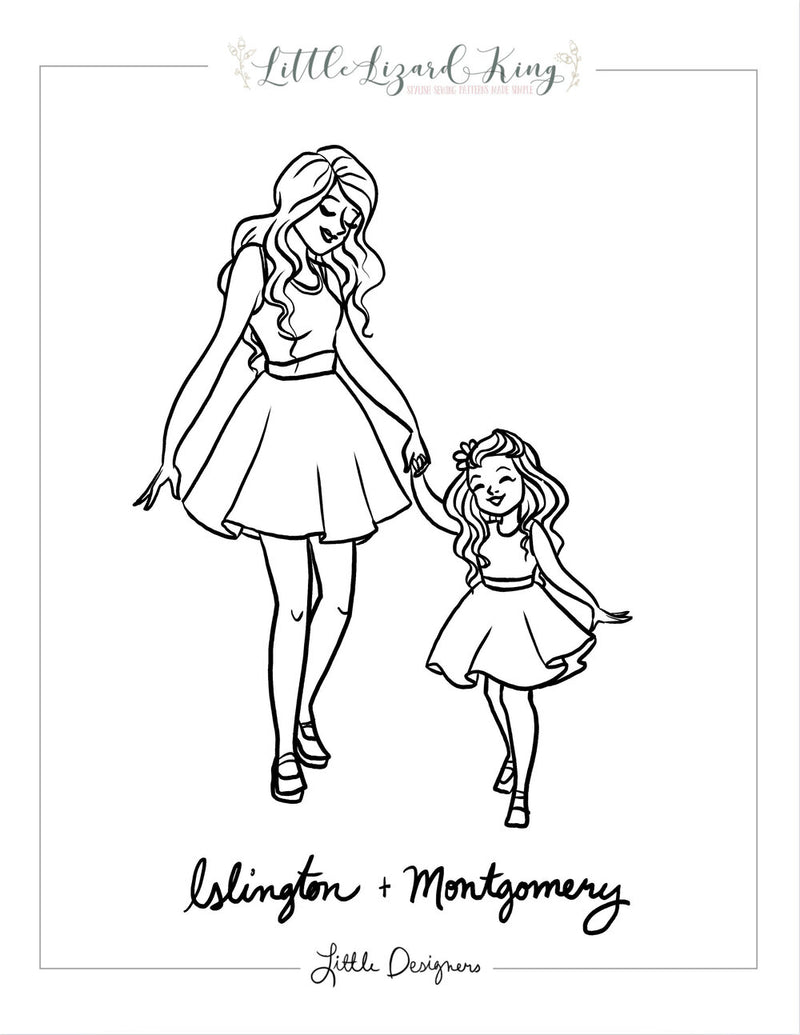 Islington and Montgomery Coloring Page