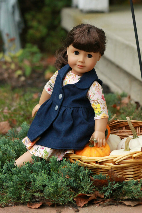Marietta Doll Coat and Vest