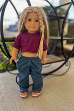 Marin Doll Top and Oakland Doll Pants
