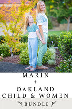 Marin and Oakland Child and Women 4 Pattern Bundle