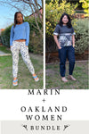 Marin Women and Oakland Women 2 Pattern Bundle